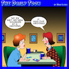 Cartoon: Divorce (small) by toons tagged ex,husband,new,girlfriend,divorcee,wedding