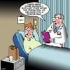 Cartoon: Doggie bag (small) by toons tagged medical,procedure,doggy,bag,leftovers,doctors,nurses,hospitals