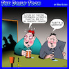 Cartoon: Drinking buddies (small) by toons tagged drunks,alcohol,the,future,old,age,pensioners