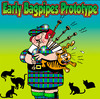 Cartoon: Early Bagpipes Prototype (small) by toons tagged bagpipes scotland cats animals musical instrument music felines wind highlands