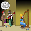 Cartoon: Easy listening (small) by toons tagged rock,music,easy,listening,radio,stations,busking