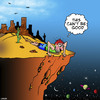 Cartoon: End of the line (small) by toons tagged lost,in,the,desert,universe