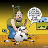 Cartoon: Ewe tube (small) by toons tagged you,tube,social,media,post,online,sheep,animals,haircut,ewes,shearing