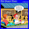 Cartoon: Fine dining (small) by toons tagged modern,dining,restaurants,cafe,menu