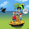 Cartoon: Free Wi Fi (small) by toons tagged desert,island,wi,fi,wireless,technology,ipads,google