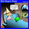 Cartoon: Frog prince (small) by toons tagged frog,prince,princess,and,charming,fairy,tales,warts