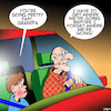 Cartoon: Grandpa (small) by toons tagged grandparents,speeding,forgetful,alzheimers,memory,loss,grandchild,highway,patrol,destinations