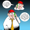 Cartoon: Hangmans noose (small) by toons tagged ex,wife,hangmans,noose,hanging,tie