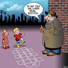 Cartoon: Hopscotch (small) by toons tagged hopscotch,drunkard,children,playing,scotch,whisky,alcohol