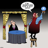 Cartoon: Hot spot (small) by toons tagged fortune,teller,the,future,wifi,hotspot