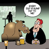 Cartoon: Hump day (small) by toons tagged camels,hump,day,middle,of,the,week,beer