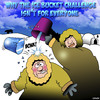 Cartoon: Ice bucket challenge (small) by toons tagged ice,bucket,challenge,eskimo,igloo,als,craze,fads,charity,work