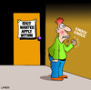 Cartoon: idiot wanted (small) by toons tagged employment,jobs,idiots,morons