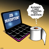 Cartoon: Job desciption (small) by toons tagged toilet,roll,laptop,job,interview,decription,paper