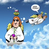 Cartoon: Kids today (small) by toons tagged cup,holders,angels,coffee,kids,today,gen,new,generation