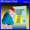 Cartoon: Kleptomania (small) by toons tagged seminars,therapy,kleptomaniac,thief,stealing,house,full