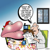 Cartoon: lighten up (small) by toons tagged collagen,plastic,surgery,botox,lips