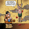 Cartoon: Like me on Facebook (small) by toons tagged facebook,torture,medievil,chamber,social,media