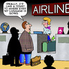 Cartoon: Lost luggage (small) by toons tagged airlines,luggage,air,travel,lost,and,found