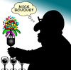Cartoon: nice bouquet (small) by toons tagged wine,bouquet,flowers,vino,tasting