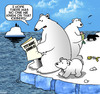 Cartoon: No one we know (small) by toons tagged titanic,polar,bears,family,disaster,accidents