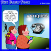 Cartoon: Old fashioned phone (small) by toons tagged smart,phones,old,antiques,big,pockets