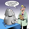 Cartoon: Peanut allergy (small) by toons tagged elephants,peanut,allergy,allergies,doctors,health