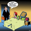 Cartoon: Pool cleaner (small) by toons tagged infidelity,pool,cleaner,husband,comes,home,early