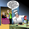 Cartoon: Restaurant review (small) by toons tagged underpants,facebook,restaurant,reviews