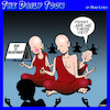 Cartoon: Road to enlightenment (small) by toons tagged enlightenment,meditation,are,we,there,yet,children,buddhist,monk
