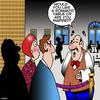 Cartoon: Romantic restaurant (small) by toons tagged romantic,restaurant,rude,waiters,restaurants,food,eating,out