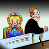 Cartoon: Russian doll (small) by toons tagged russian,doll,alcohol,consumption,wine,dolls,fairy,tales