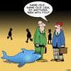 Cartoon: Same old same old (small) by toons tagged sharks