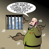 Cartoon: Sniffer dogs (small) by toons tagged sniffer,dogs,lost,luggage,jail,prison,smuggling