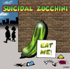 Cartoon: suicidal zucchini (small) by toons tagged suicide,zucchini,vegetable,depression,angst,mental,health,eating,food,greens