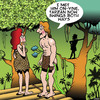 Cartoon: Tarzan swings both ways (small) by toons tagged tarzan,swingers,swings,both,ways,gay,and,jane,jungle,love