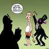 Cartoon: The Undertaker (small) by toons tagged undertaker,funerals,coffin,funeral,march