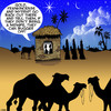 Cartoon: Three wise men (small) by toons tagged midwife,three,wise,men,christmas,gifts,frankencense,bethleham,birth,of,jesus