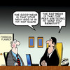 Cartoon: Tip Top (small) by toons tagged bankrupt,poor,financial,advice,accountant