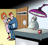 Cartoon: Tips (small) by toons tagged circumcise,penis,tip,jar,doctors,infants,circumcision,tipping,foreskin