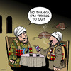 Cartoon: Trying to quit (small) by toons tagged terrorist,smoking,quit,suicide,bomber