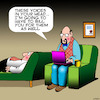 Cartoon: Voices in my head (small) by toons tagged billing,voices,in,my,head