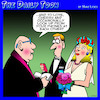 Cartoon: Wedding vows (small) by toons tagged staring,at,phones,wedding,vows,ceremony,smartphones,phone,addiction