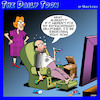 Cartoon: Willpower (small) by toons tagged exercise,willpower,lazy,ezy,chair