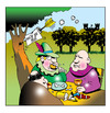 Cartoon: youve got mail (small) by toons tagged robin,hood,sherwood,forest,sheriff,of,nottingham,computers,email,web,mail,twitter,castles,medievil,merry,men