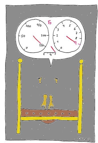 Cartoon: Im Bett 14 (medium) by Müller tagged imbett,bett