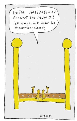 Im Bett 30 By Muller Love Cartoon Toonpool