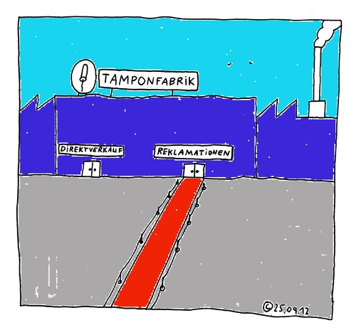Roter Teppich By Müller  Business Cartoon  TOONPOOL
