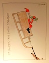 Cartoon: Driving home for Christmas (small) by Müller tagged weihnachtsmann,santaclaus,santa,drivinghomeforchristmas