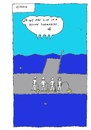 Cartoon: Yellow Submarine (small) by Müller tagged yellow,submarine,song,thebeatles